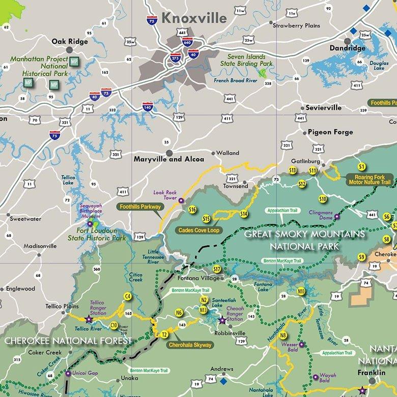 Outdoor Recreation Map
